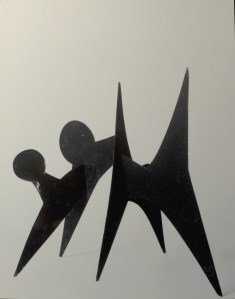Stabile de Calder (maquette)