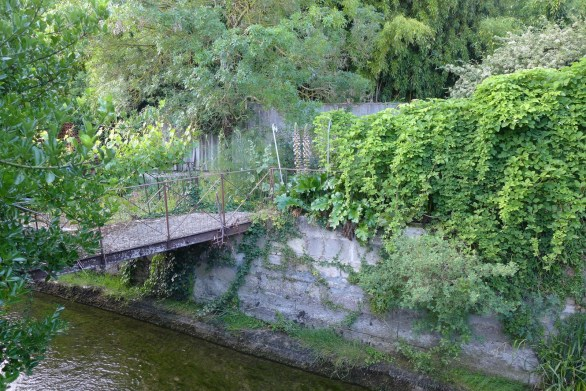 old foot bridge