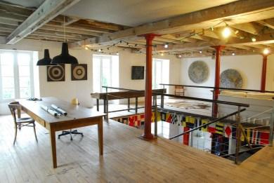 1er étage : galerie
