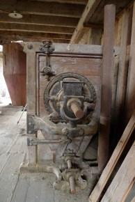 une ancienne machine